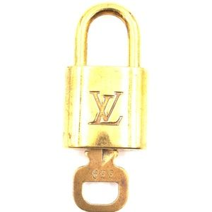 Gold Lock Keepall Speedy Key Set #338 Bag